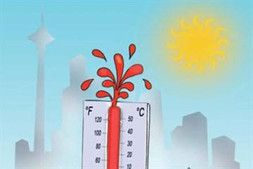 ایران گرمتر میشود