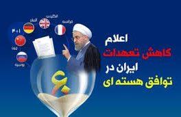 ایران آماده اجرای گام سوم کاهش تعهدات هستهای است