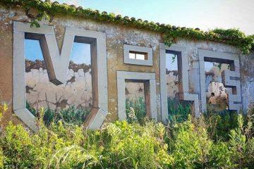 نقاشی که با اسپری دیوارها را دگرگون میکند