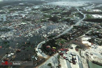 طوفان جزایر باهاما را درهم کوبید + تصاویر