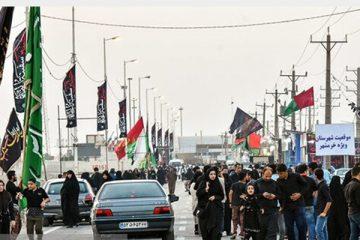 تردد زائران ایرانی به عراق با تاخیر/ مرزهای خسروی و چذابه باز است