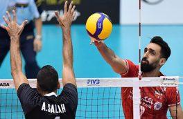 شکست ناباورانه تیم ملی والیبال برابر مصر